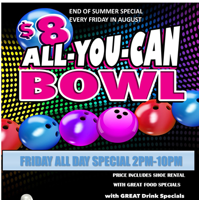 all u can bowl